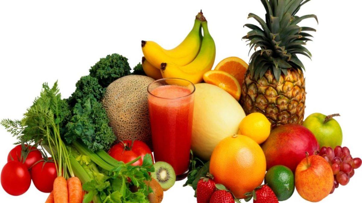 gyümölcsök és zöldségek látásra jó