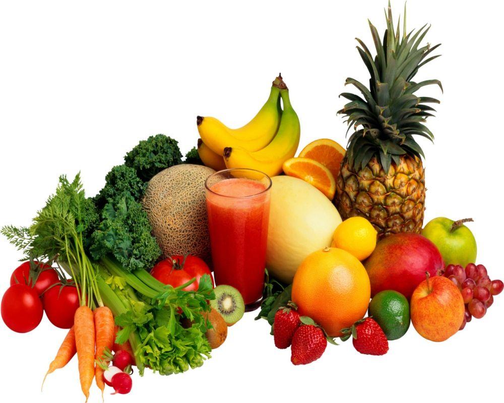 Zöldségek és gyümölcsök - a színek hatása az egészségünkre