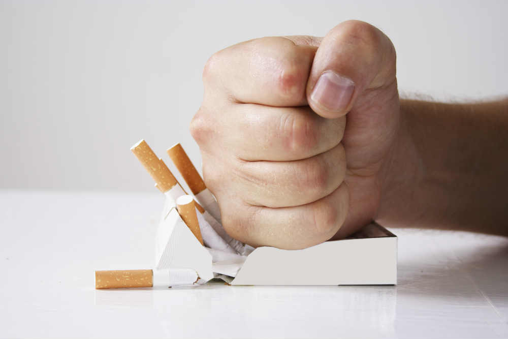 ha abbahagyta a dohányzást asztmával