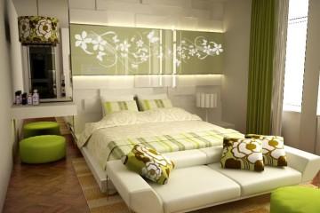 hálószoba 4- bevetett ágy