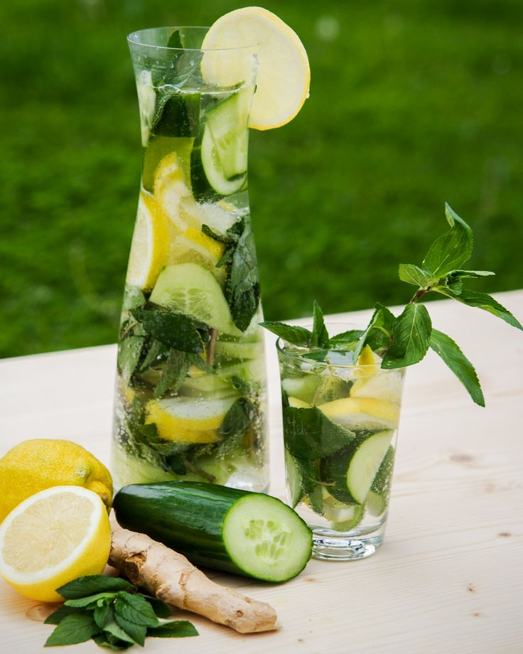 fogyókúrás uborkás ital