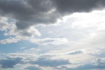 felhős ég