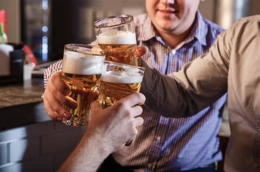 alkohol, ital, sör