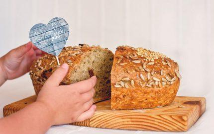 kenyérsütés otthon